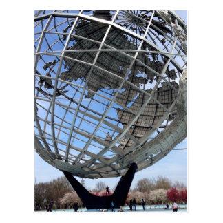 Unisphere, World's Fair Grounds, Queens Postcard