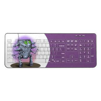 UNIT ALIEN ROBOT Custom Wireless Keyboard 2