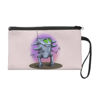 UNIT ALIEN ROBOT Wristlet Bag