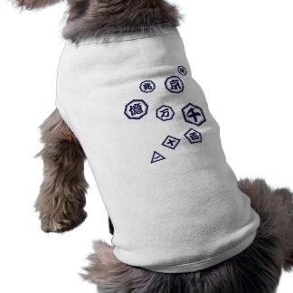 < Unit (dark blue purple) of number > Units of Sleeveless Dog Shirt