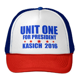 Unit One for President Kasich 2016 Cap