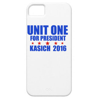 Unit One for President Kasich 2016 iPhone 5 Covers