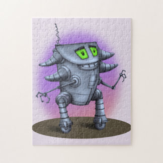 UNIT ROBOT CARTOON PUZZLE 11 X 14