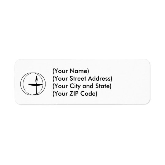 Unitarian Address Labels! Return Address Label