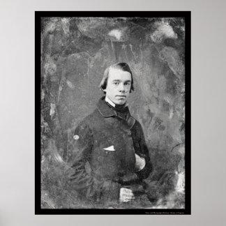 Unitarian Pastor Thomas King Daguerreotype 1854 Poster
