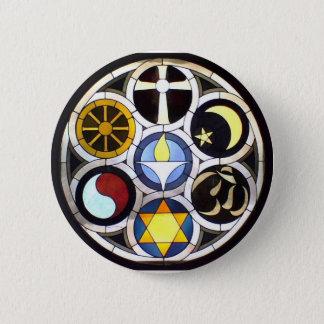Unitarian Universalist Church Rockford, IL 6 Cm Round Badge