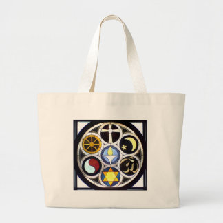 Unitarian Universalist Church Rockford, IL Large Tote Bag