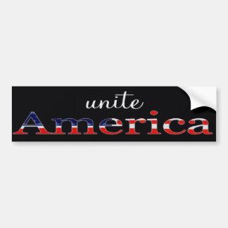 Unite America Patriotic Bumper Sticker