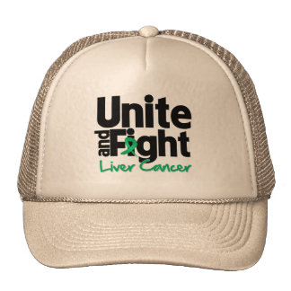 Unite and Fight Liver Cancer Mesh Hats