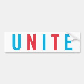 unite bumper sticker