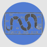Unite or Die Round Sticker