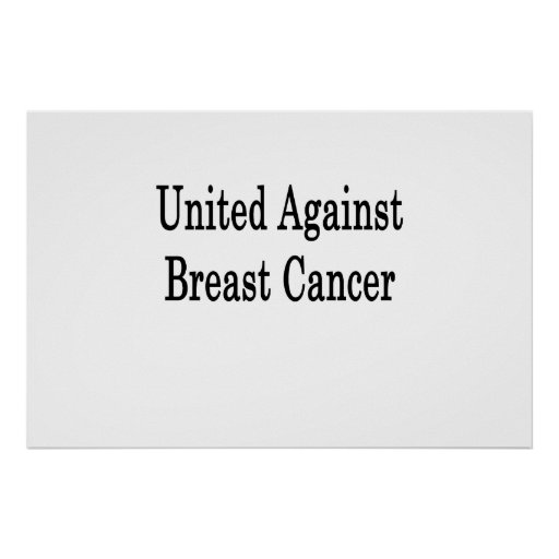 United Against Breast Cancer Print