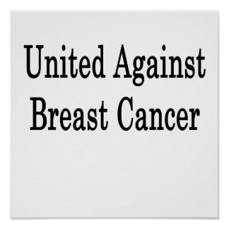 United Against Breast Cancer Poster