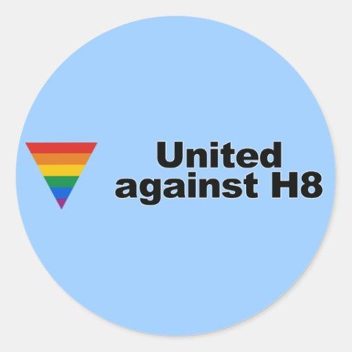 United against H8 Bumper Sticker