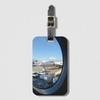 United Air Plane Luggage Tag
