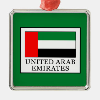 United Arab Emirates Christmas Ornament