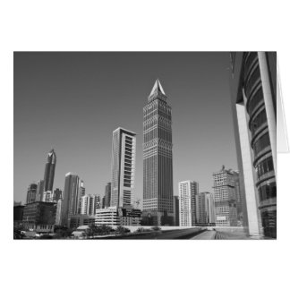 United Arab Emirates, Dubai, Dubai City. 2 Greeting Card