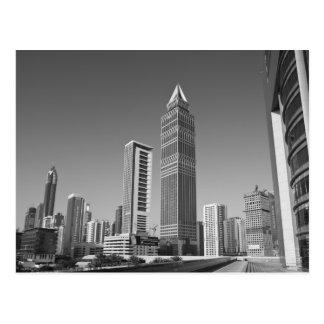 United Arab Emirates Dubai Dubai City 2 Postcards