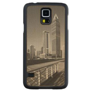 United Arab Emirates, Dubai, Dubai City. Carved Maple Galaxy S5 Case