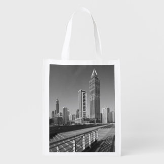 United Arab Emirates, Dubai, Dubai City. Reusable Grocery Bag