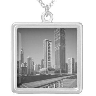 United Arab Emirates, Dubai, Dubai City. Silver Plated Necklace
