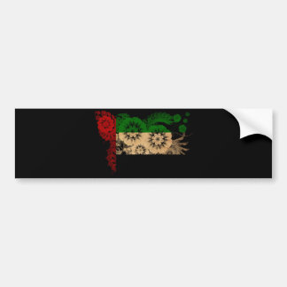 United Arab Emirates Flag Bumper Sticker
