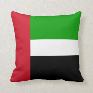 United Arab Emirates Flag Throw Cushion