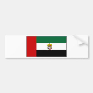 United Arab Emirates Head of State Flag Car Bumper Sticker