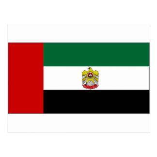 United Arab Emirates Head of State Flag Postcard