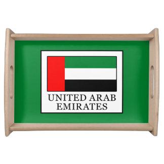 United Arab Emirates Serving Tray