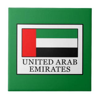 United Arab Emirates Small Square Tile