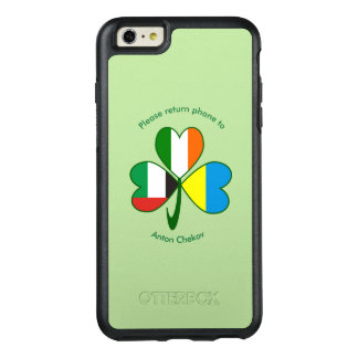 United Arab Emirates, Ukraine, Ireland Shamrock OtterBox iPhone 6/6s Plus Case