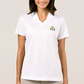 United Arab Emirates, Ukraine, Ireland Shamrock Polo Shirt