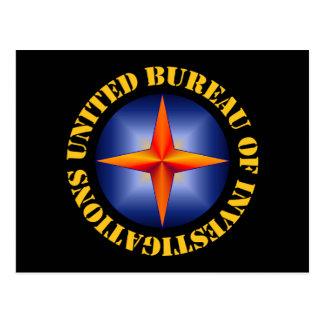 United Bureau of Investigations Post Cards