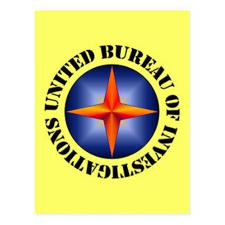 United Bureau of Investigations Postcard