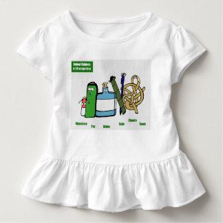 United Children of Brangelina Toddler Ruffle Tee