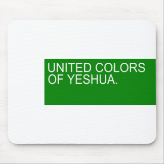 United colors of Yeshua Mousepads