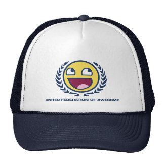 United Federation of Awesome Mesh Hats