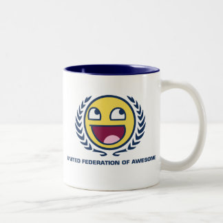 United Federation of Awesome Two-Tone Coffee Mug