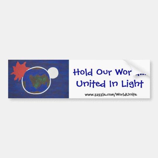 United In Light, bumper Sticker