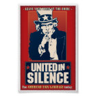 United in Silence (ASL) Poster
