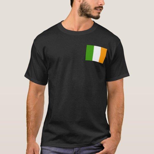 United Irish Nation w/pocket Tricolor T-Shirt