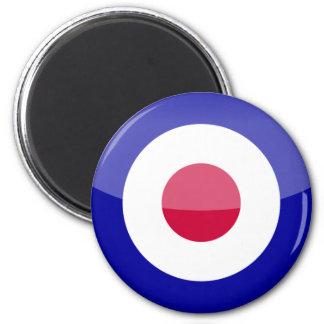 United Kingdom 6 Cm Round Magnet