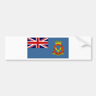 United Kingdom Air Training Corps Flag Bumper Sticker