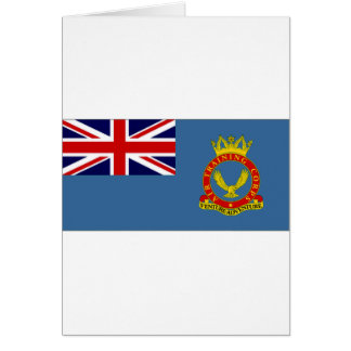United Kingdom Air Training Corps Flag Card