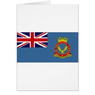 United Kingdom Air Training Corps Flag Greeting Card