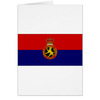 United Kingdom Army Cadet Force Flag Card