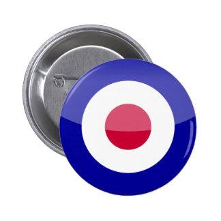 United Kingdom 6 Cm Round Badge