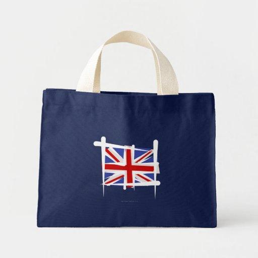 United Kingdom Brush Flag Bag