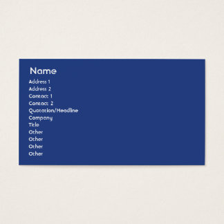United Kingdom - Business Business Card